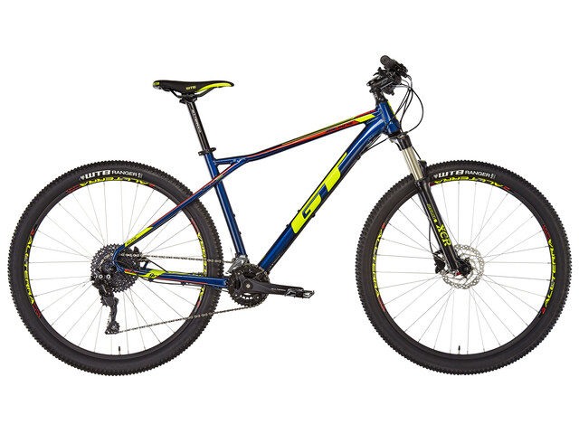 "GT Bicycles Avalanche Elite MTB Hardtail 29"" gul/blå"